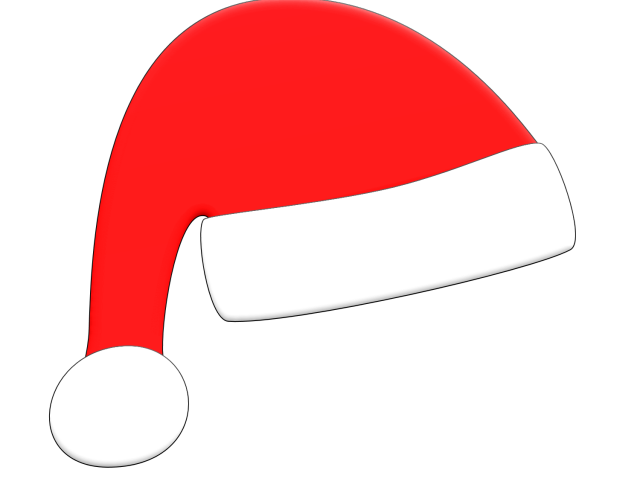Santa basketball clipart black and white stock Santa Hat Pictures Free Download Clip Art - carwad.net black and white stock