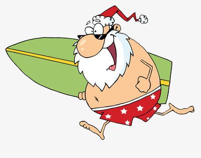 Santa boat clipart png library stock Santa Claus On A Boat Png & Free Santa Claus On A Boat.png ... png library stock