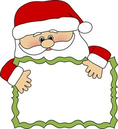 Santa border clipart picture royalty free stock Free Santa Border Cliparts, Download Free Clip Art, Free ... picture royalty free stock