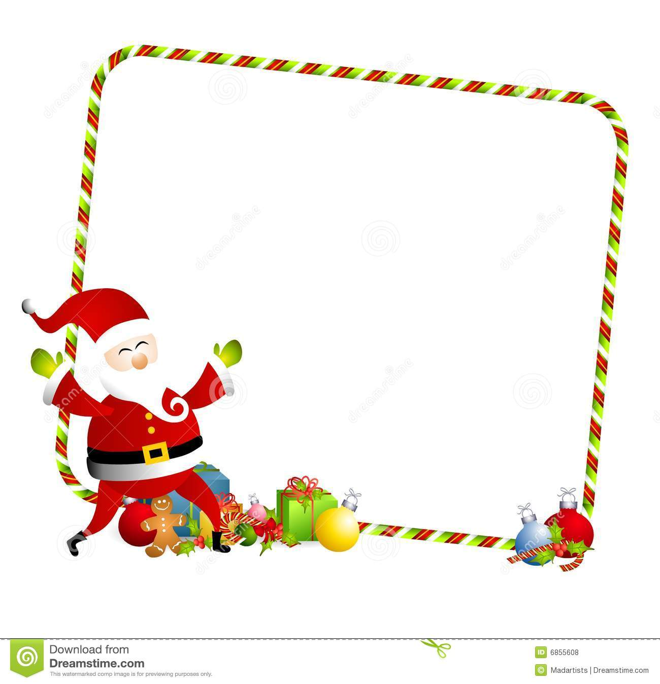 Santa border clipart clip royalty free stock Santa border clipart » Clipart Station clip royalty free stock