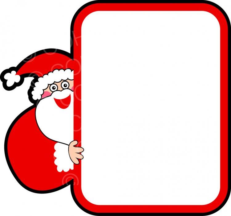 Santa border clipart image transparent download Free Christmas Santa Border Clip Art – Prawny Clipart ... image transparent download