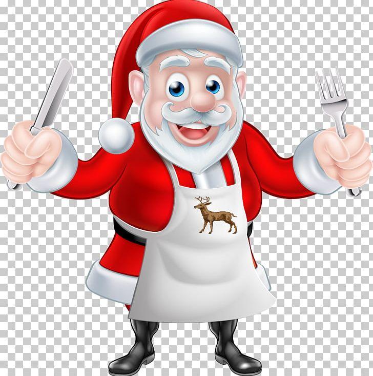 Santa chef clipart image Santa Claus Chef Cooking Christmas PNG, Clipart, Cartoon ... image