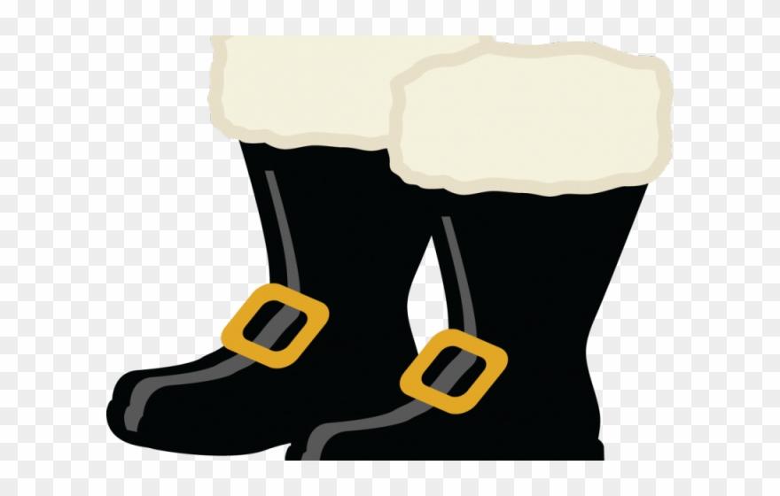 Santa claus boots clipart png royalty free Santa Claus Clipart Boot - Santa Boots Clipart Black And ... png royalty free