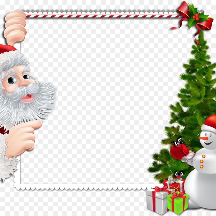 Santa claus border clipart banner freeuse stock Christmas Tree Art clipart - Illustration, Christmas, Tree ... banner freeuse stock
