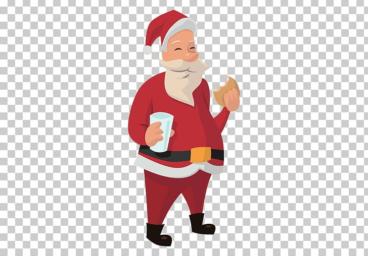 Santa claus eating clipart clip art black and white library Santa Claus Gingerbread Man Eating PNG, Clipart, Biscuit ... clip art black and white library