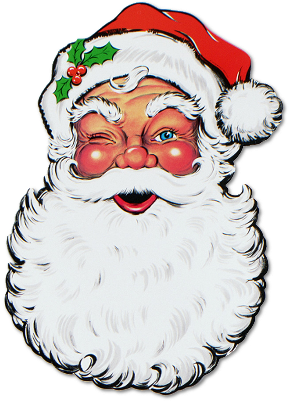 Santa claus face clipart png black and white download Free Santa Face, Download Free Clip Art, Free Clip Art on ... png black and white download