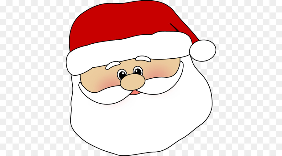 Santa claus face clipart svg freeuse stock Smiley Face Background png download - 480*500 - Free ... svg freeuse stock