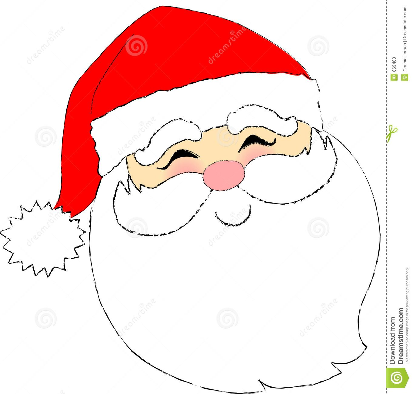 Santa claus face clipart picture free stock Cartoon Santa Claus Face | Printables | Santa face, Santa ... picture free stock