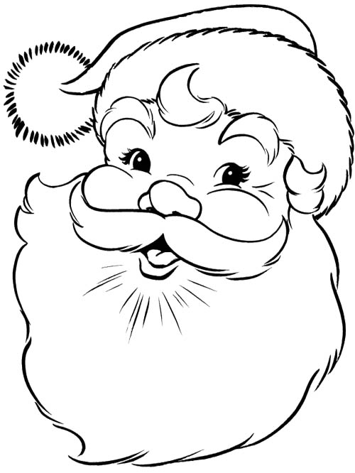Santa claus face clipart black and white svg black and white stock Free Santa Claus Face Pictures, Download Free Clip Art, Free ... svg black and white stock