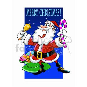 Santa claus giving gifts clipart jpg freeuse stock santa claus giving gifts merry christmas clipart. Royalty-free clipart #  393379 jpg freeuse stock