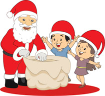 Santa claus giving gifts clipart picture transparent stock Search Results for gift - Clip Art - Pictures - Graphics ... picture transparent stock