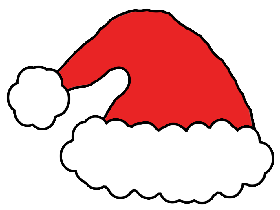 Santa hat clipart outline free Free Picture Of A Santa Hat, Download Free Clip Art, Free ... free