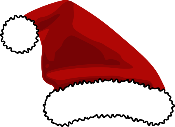 Santa claus hat clipart free banner free download printable santa hat | Santa Hat For Logo clip art - vector ... banner free download