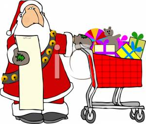 Santa claus list clipart graphic transparent download Santa claus checking his list clipart - ClipartFest graphic transparent download