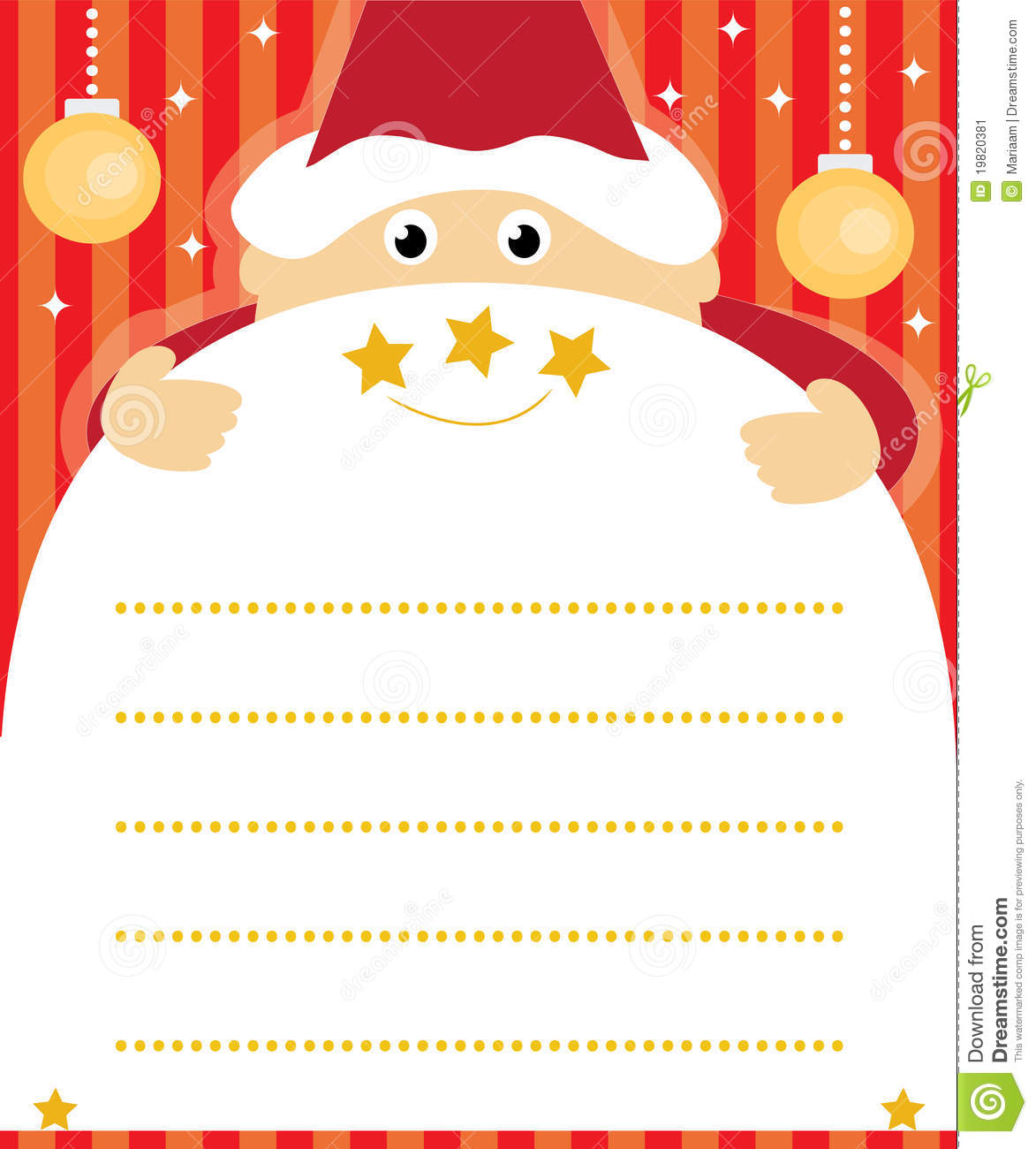 Santa claus list clipart image transparent download Santa Claus Wish List Stock Image - Image: 19820381 image transparent download
