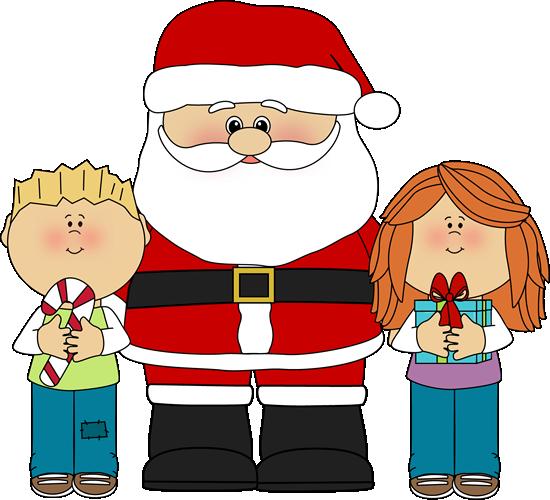 Santa claus with child on lap clipart jpg child\'s christmas clipart | Santa and Kids Clip Art - Santa ... jpg