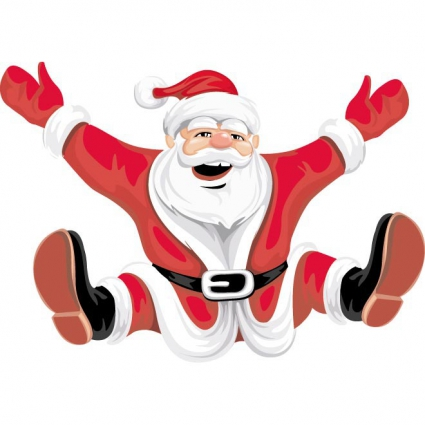 Santa clipart free download black and white library Santa claus free to use clip art image - Clipartix black and white library