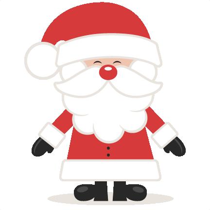 Santa clipart svg png royalty free stock Cute Santa Clipart & Cute Santa Clip Art Images - ClipartALL.com png royalty free stock