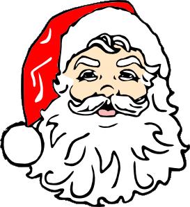 Santa clipart svg png royalty free download Classic Santa clip art Free Vector / 4Vector png royalty free download