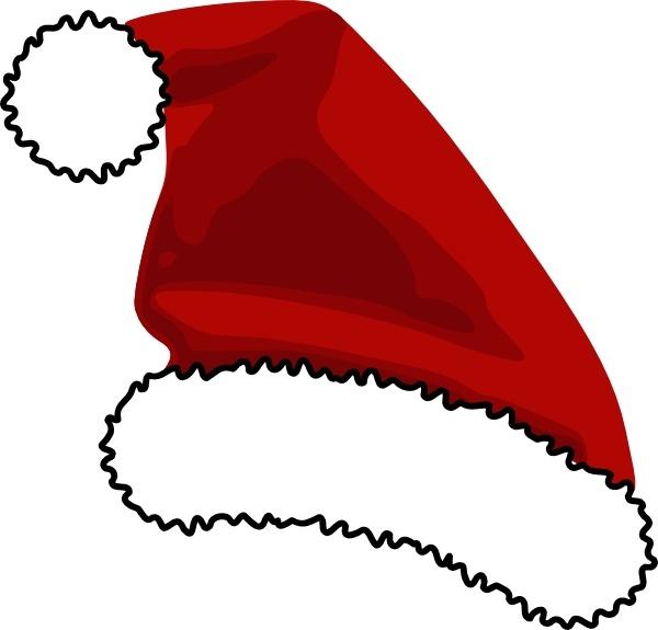 Santa clipart svg picture freeuse download Santa Cap clip art Free vector in Open office drawing svg ( .svg ... picture freeuse download