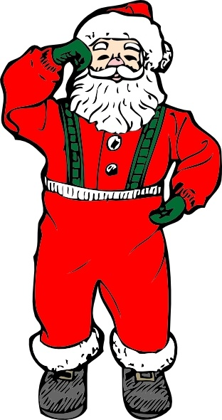 Santa clipart svg picture royalty free download Dancing Santa clip art Free vector in Open office drawing svg ... picture royalty free download
