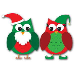 Santa clipart svg banner transparent Christmas Owl Clip Art & Christmas Owl Clip Art Clip Art Images ... banner transparent