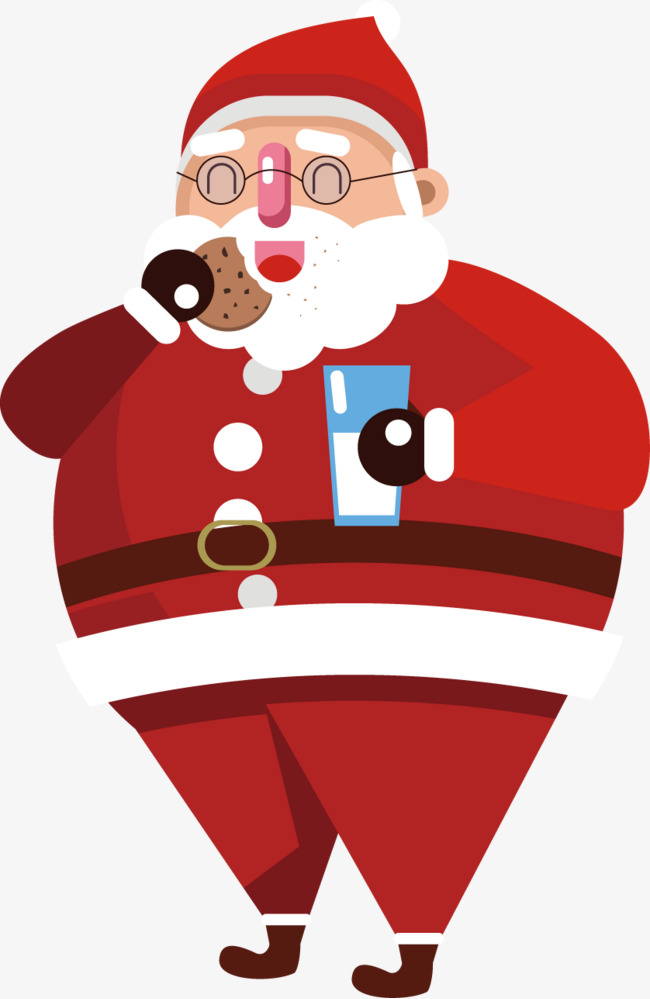 Santa eating cookies clipart picture transparent library Santa Eating Cookies Png & Free Santa Eating Cookies.png ... picture transparent library