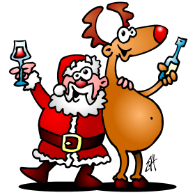 Santa drinking clipart jpg download Santa drinking a beer clipart images gallery for free ... jpg download