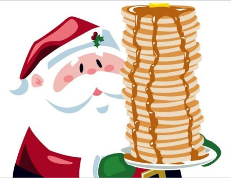 Santa eating breakfast clipart graphic library download Breakfast with Santa/Tiffin graphic library download