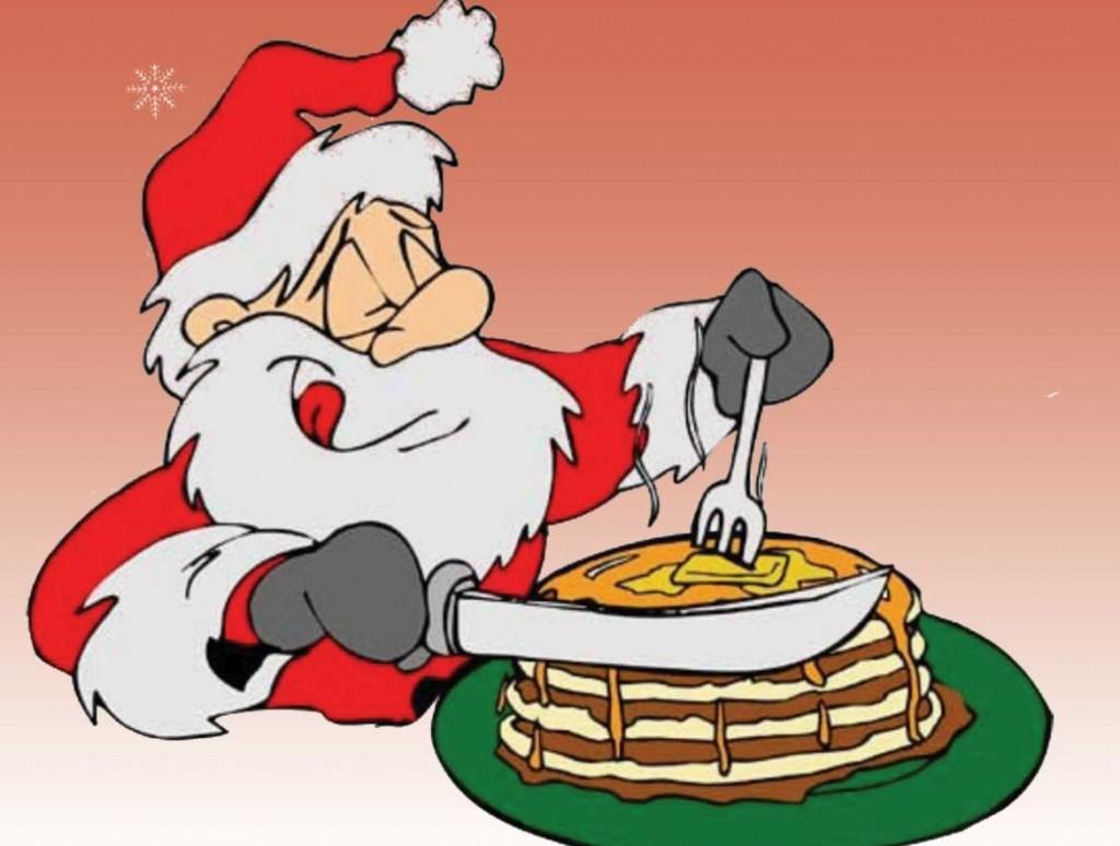 Santa eating breakfast clipart image library stock Breakfast with Santa, McDonald\'s Raton – New Legends Magazine image library stock
