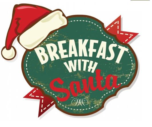 Santa eating breakfast clipart clipart royalty free download Download a Breakfast with Santa logo you can use for your ... clipart royalty free download