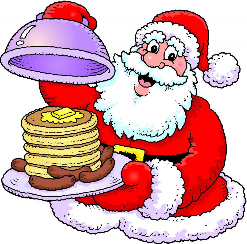 Santa eating breakfast clipart png freeuse download Santa Breakfast Clipart png freeuse download