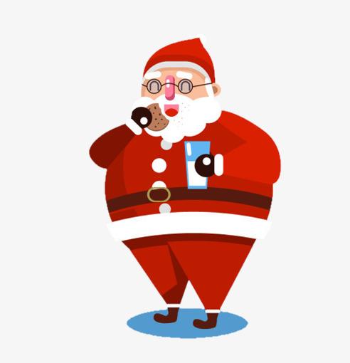 Santa eating clipart image freeuse download Santa Eating Png & Free Santa Eating.png Transparent Images ... image freeuse download