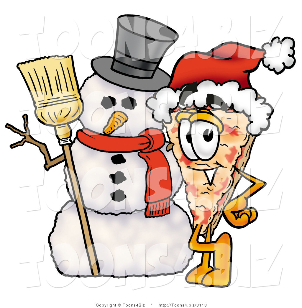 Santa eating pizza clipart jpg free library Eating Pizza Clipart | Free download best Eating Pizza ... jpg free library