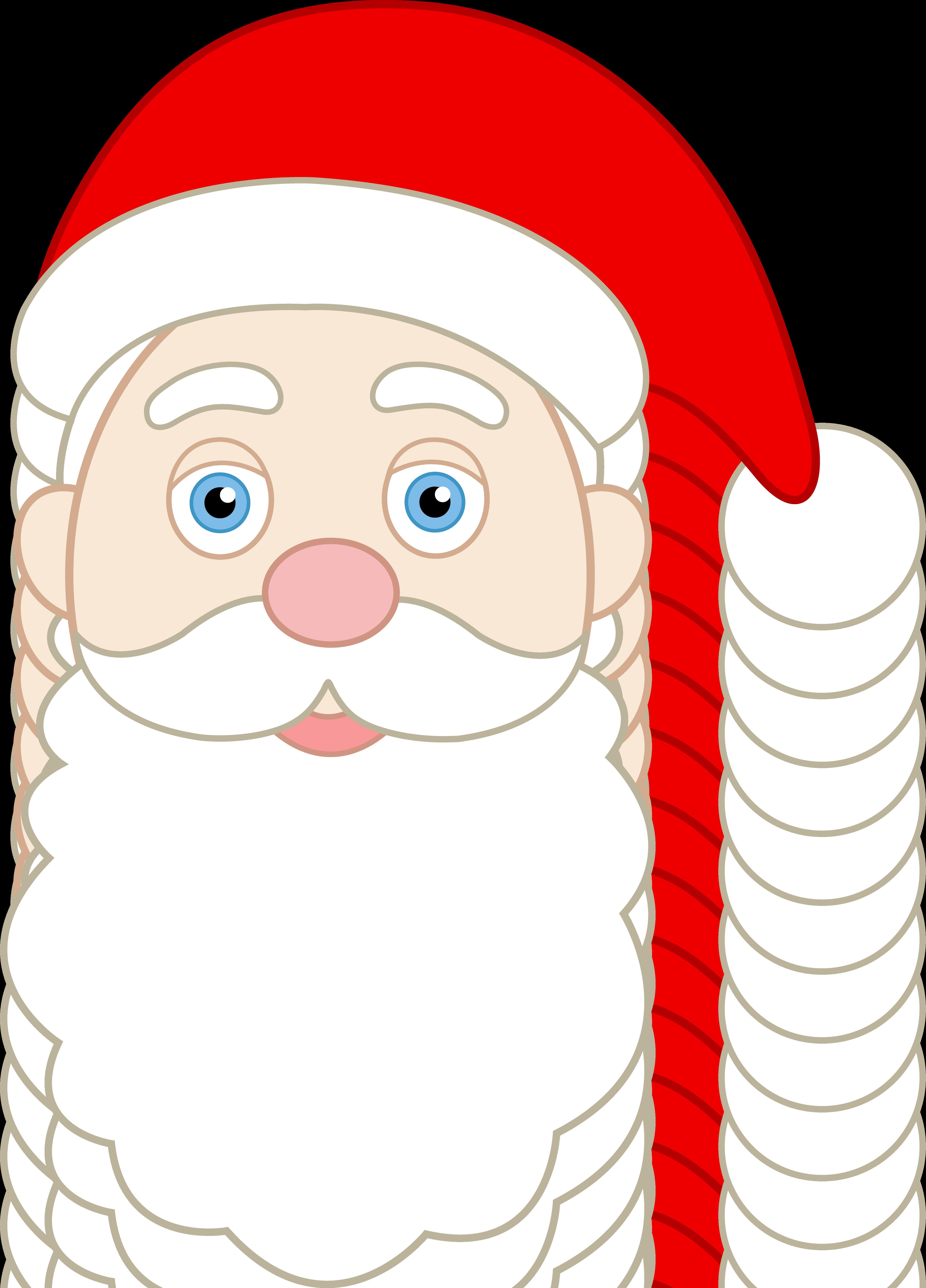 Santa face clipart vector freeuse stock 10+ Santa Face Clip Art | ClipartLook vector freeuse stock