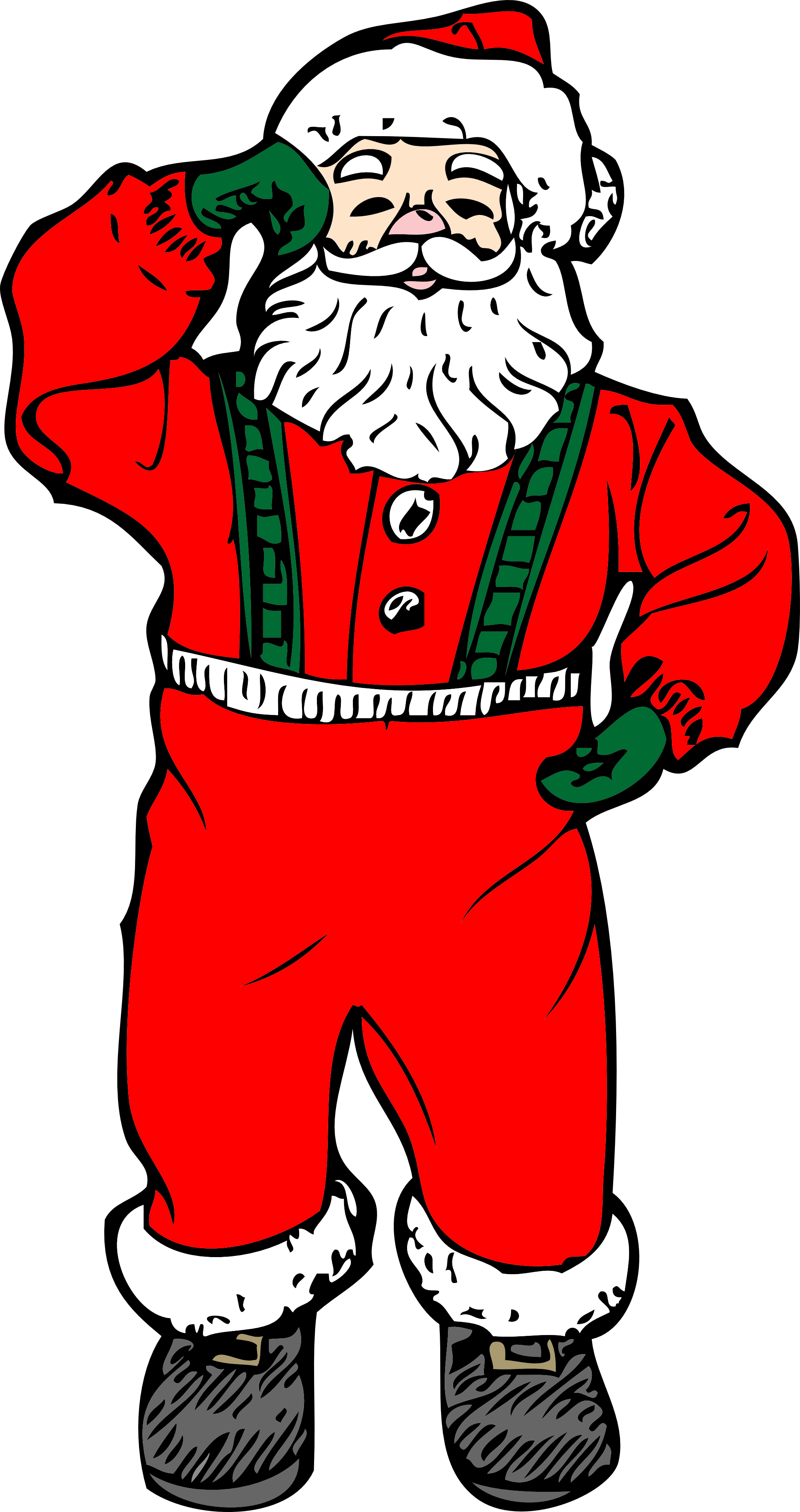 Santa football clipart image transparent download clipartist.net » Vector Art image transparent download