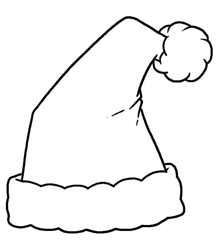 Santa hat clipart black and white free svg free download Santa Hat On Picture   Free download best Santa Hat On ... svg free download