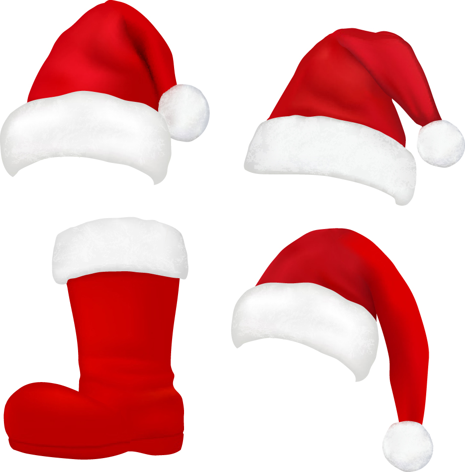 Santa hat clipart mint graphic free stock Santa hat clipart download - ClipartFox graphic free stock