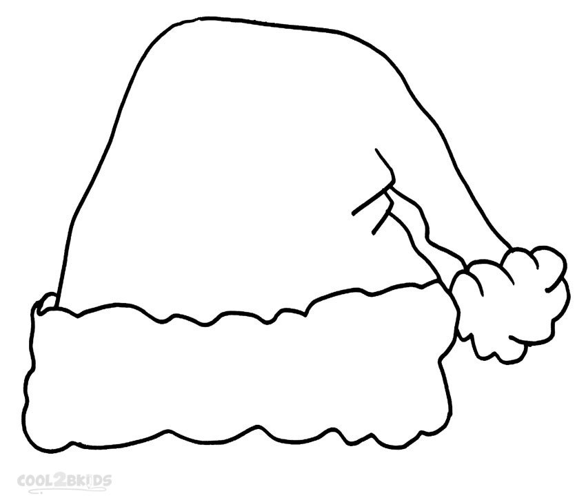 Santa hat clipart outline png library stock Santa hat clipart outline png 1 » Clipart Portal png library stock