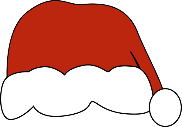 Santa hat clipart outline png transparent stock Free Picture Of A Santa Hat, Download Free Clip Art, Free ... png transparent stock