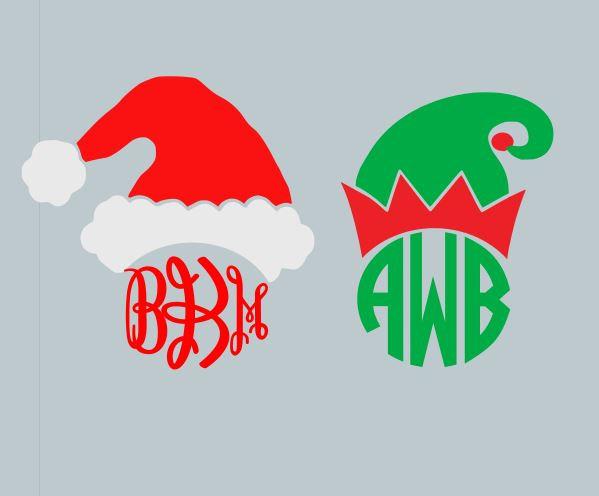 Santa hat clipart svg vector royalty free library Santa svg | Etsy vector royalty free library