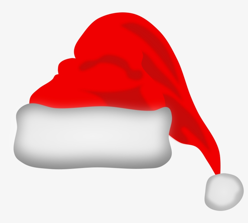 Santa hat clipart transparent background clip black and white download santa #hat #clipart - Santa Claus Hat Transparent Background ... clip black and white download