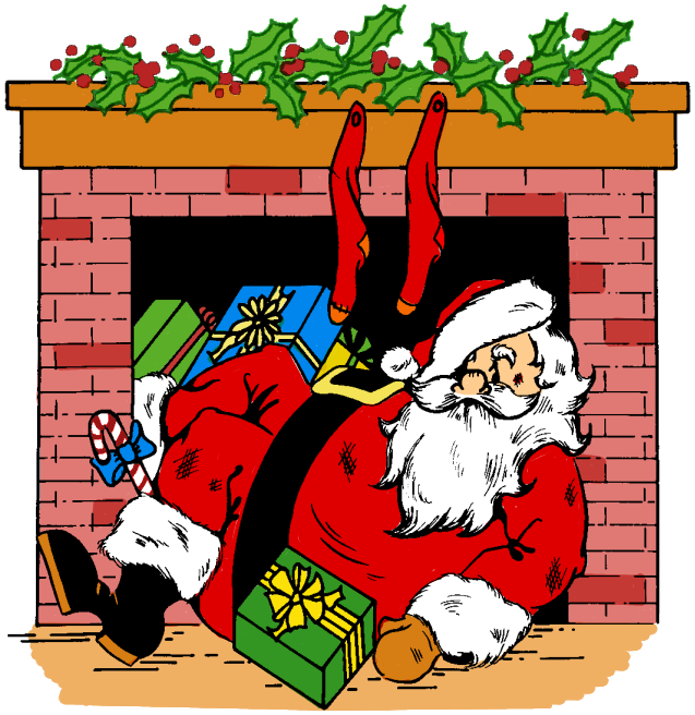 Santa's house clipart image transparent stock 28+ Collection of Santa Claus Chimney Clipart | High quality, free ... image transparent stock