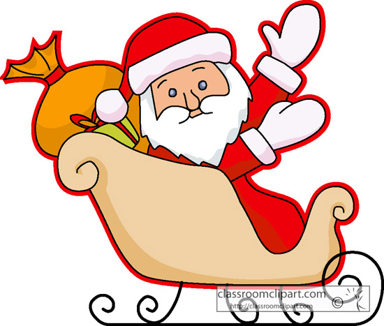 Clipart santa in sleigh svg free download 10+ Santa And Sleigh Clipart | ClipartLook svg free download