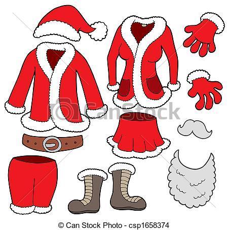 Santa jacket clipart clip art free download Santa suit clipart 2 » Clipart Portal clip art free download