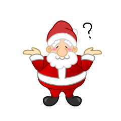 Santa laughing clipart picture library stock Santa to Explain Clipart Free Picture|Illustoon picture library stock