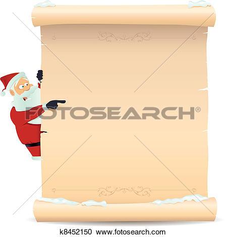 Santa list clip art clip library Santa list Clip Art EPS Images. 694 santa list clipart vector ... clip library