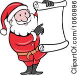 Santa list clip art vector Royalty-Free (RF) Santas List Clipart, Illustrations, Vector ... vector