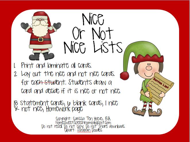 Santa list clipart graphic transparent stock Naughty Or Nice List Clipart - Clipart Kid graphic transparent stock