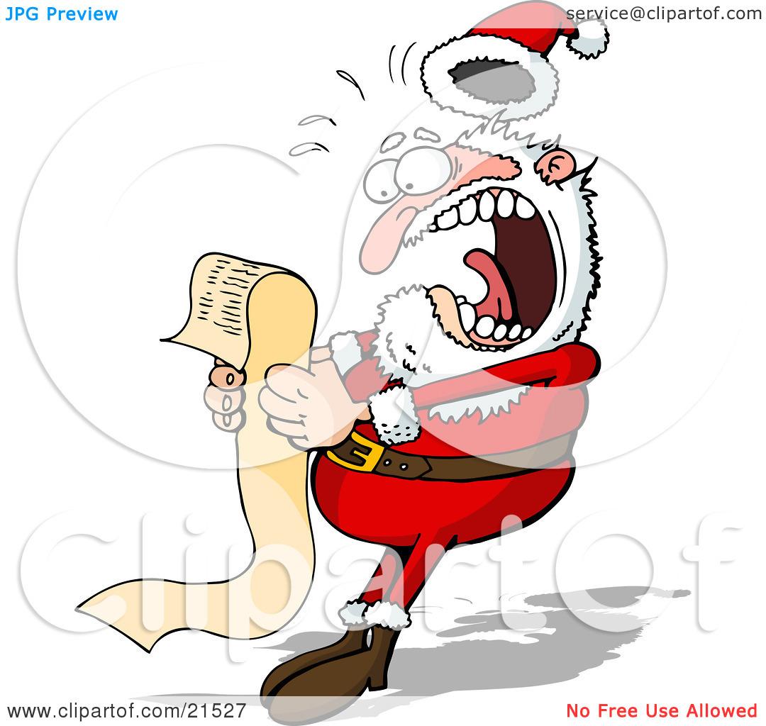 Santa list clipart free stock Santa claus list clipart - ClipartFest free stock